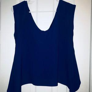 Material Girl Blue Top